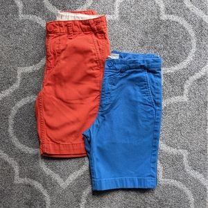 J Crew & Gap boys shorts size 8